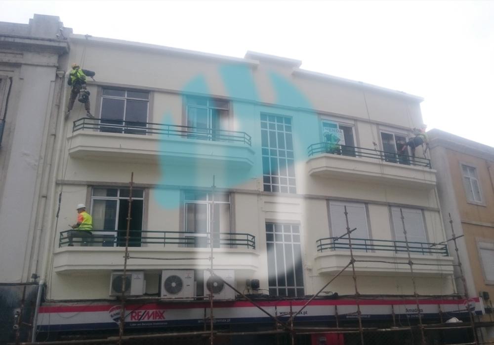 Reabilitação de fachadas e coberturas